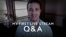Troy Black My First Live Stream